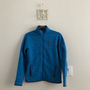 Blue Patagonia Better Sweater